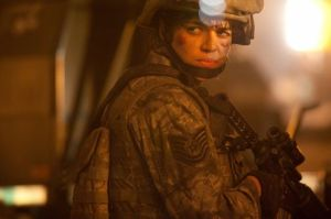 BATTLE LOS ANGELES Michelle Rodriguez