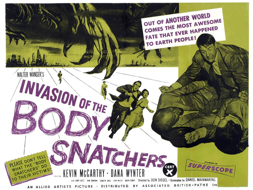 a review of the 1956 film invasion of the body snatchers Read movie and film review for invasion of the body snatchers (1956) - don siegel on allmovie - though it was an inexpensive production for.