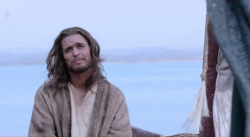 Jesus Christ Walking Water
