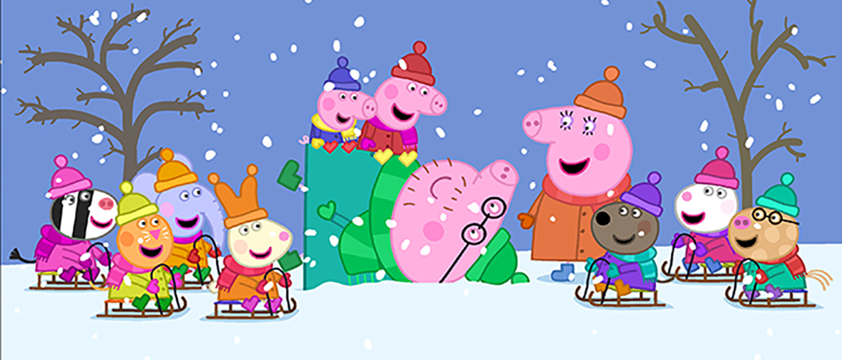 PEPPA PIG: COLD WINTER DAY (2015) DVD review   Keeping It Reel