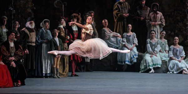 "American Ballet Theater performing ""Giselle"" at Metropolitan Opera House on Saturday night, May 23, 2015.This image:Misty Copeland.(Photo by Hiroyuki Ito/Getty Images)"