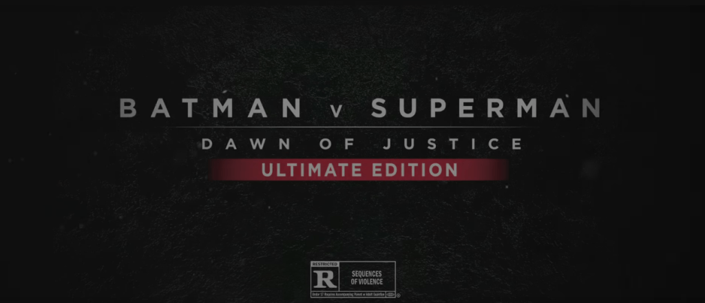 BATMAN V SUPERMAN DAWN OF JUSTICE ULTIMATE EDITION 2016 Review