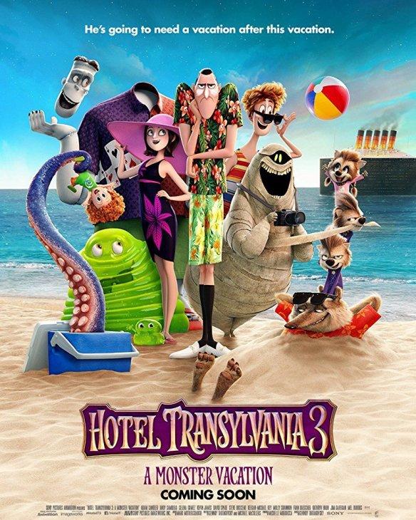 HOTEL TRANSYLVANIA 3: SUMMER VACATION (2018) review